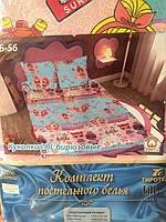 """Комплект постельного белья """"Тиротекс"""" детская серия - Куколки ЛОЛ (LOL) бирюзовые"""