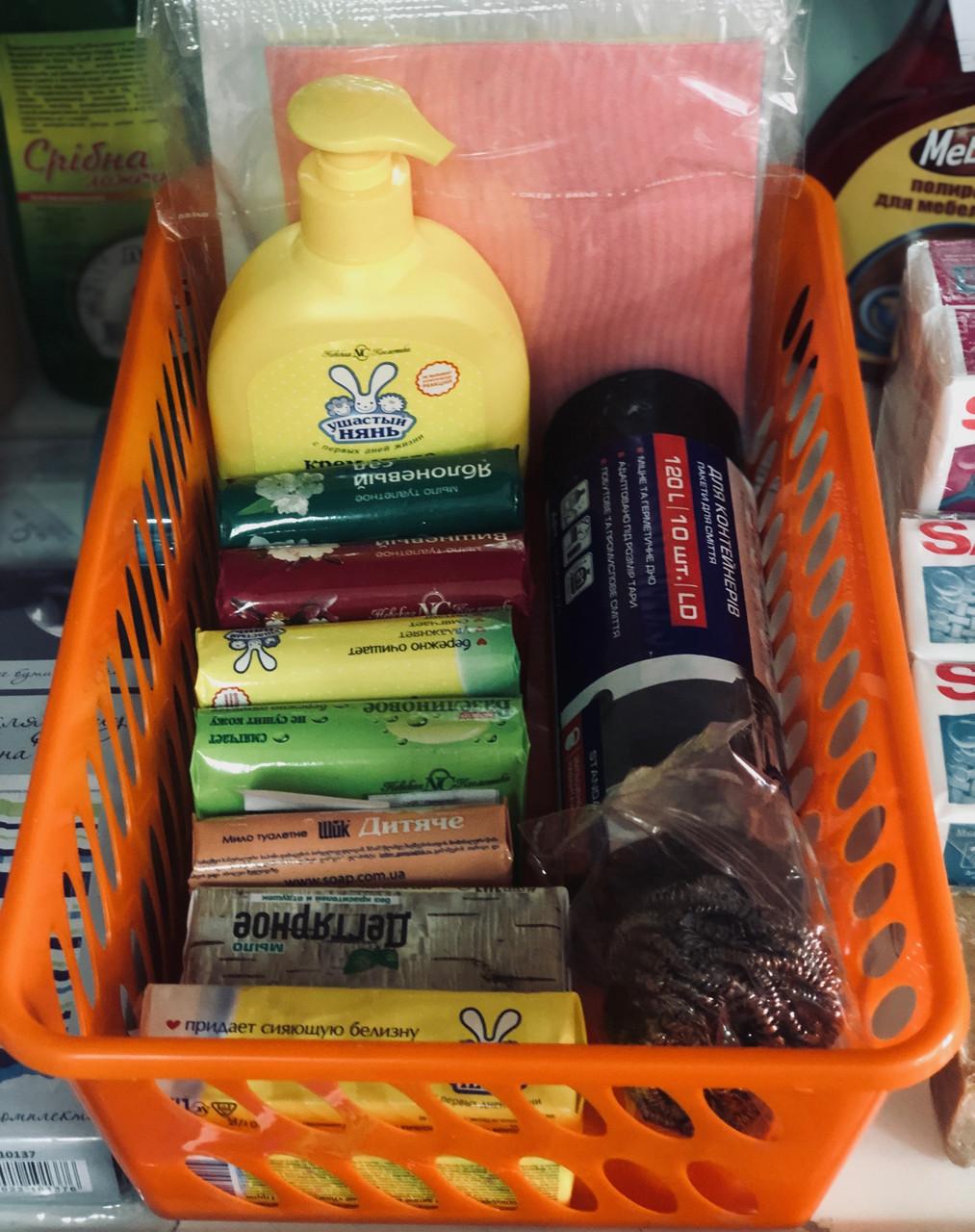 Корзиночку пластиковый для хранения, № 3 (11 * 19 * 30 см), ММ