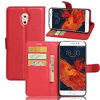 Чехол-книжка Litchie Wallet для Meizu Pro 6 Plus Красный