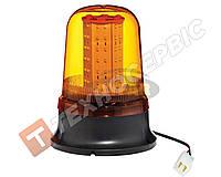 Маячок проблесковый оранжевый LED на болтах Турция TR 503-8, 12 - 24 в