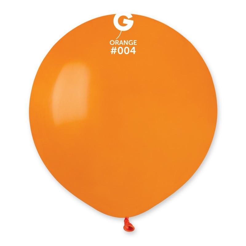 "Куля 19"" (48 см) Gemar пастель 04 помаранчевий (Джемар)"