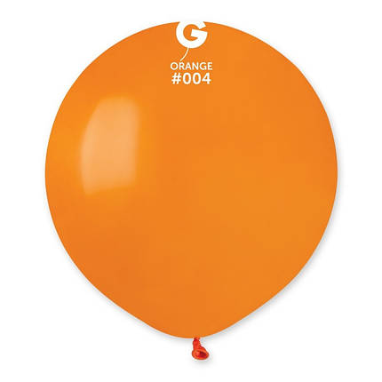 "Куля 19"" (48 см) Gemar пастель 04 помаранчевий (Джемар), фото 2"