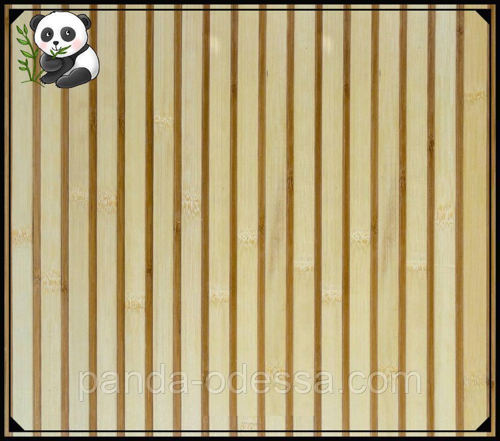 """Бамбукові шпалери """"Зебра Біла"""", 1,5 м, ширина планки 17/5 мм / Бамбукові шпалери"""