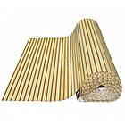 """Бамбукові шпалери """"Зебра Біла"""", 1,5 м, ширина планки 17/5 мм / Бамбукові шпалери, фото 8"""