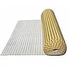 """Бамбукові шпалери """"Зебра Біла"""", 1,5 м, ширина планки 17/5 мм / Бамбукові шпалери, фото 9"""