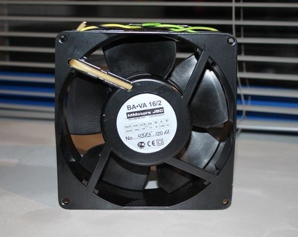 Вентилятор высокотемпературный освеой MMotors JSC VA16/2T +150°C