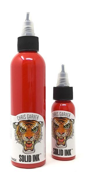 Тату краска SOLID INK GARVER BLOOD ORANGE 1 унц (30мл)