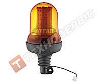 Маячок проблесковый оранжевый LED под шток Турция TR 517-6