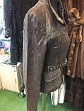 Куртка из натуральной кожи куртка женская натуральная кожа 44 размер, фото 2