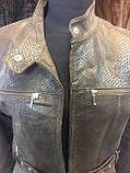 Куртка из натуральной кожи куртка женская натуральная кожа 44 размер, фото 6