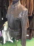 Куртка из натуральной кожи куртка женская натуральная кожа 44 размер, фото 5