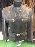 Куртка из натуральной кожи куртка женская натуральная кожа 44 размер, фото 3