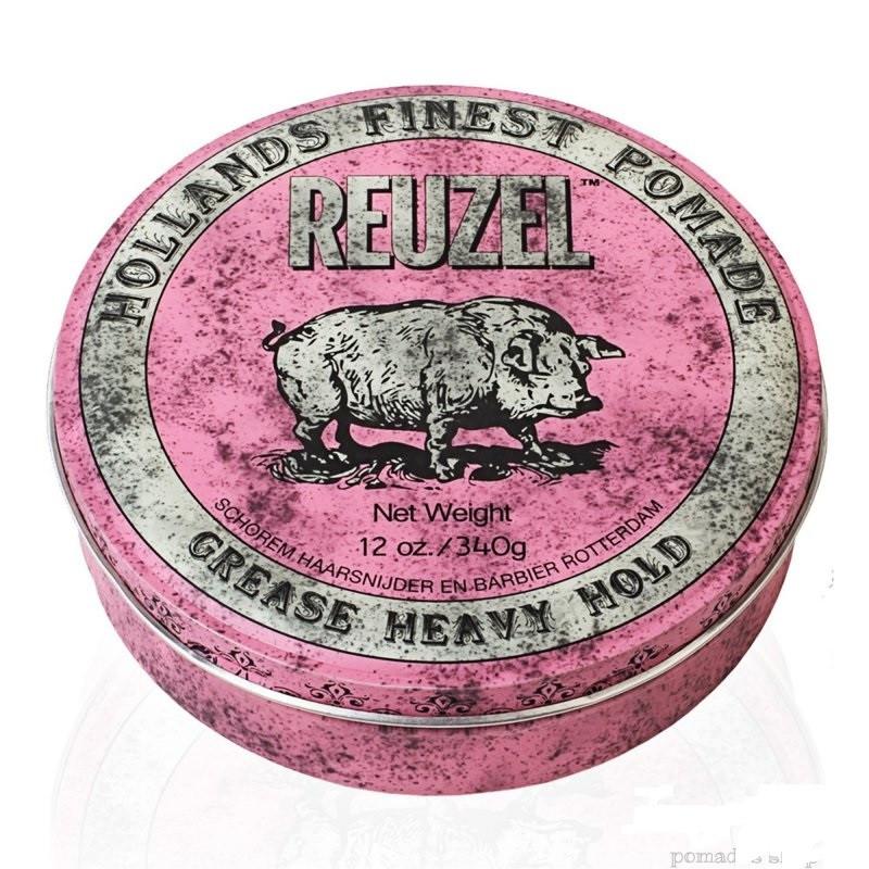 Pink 340ml  Heavy Hold REUZEL