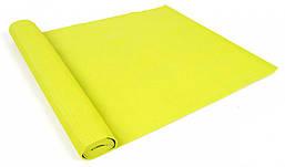 Каремат Laubr 3 мм салатовый (коврик спортивный, коврик для йоги)