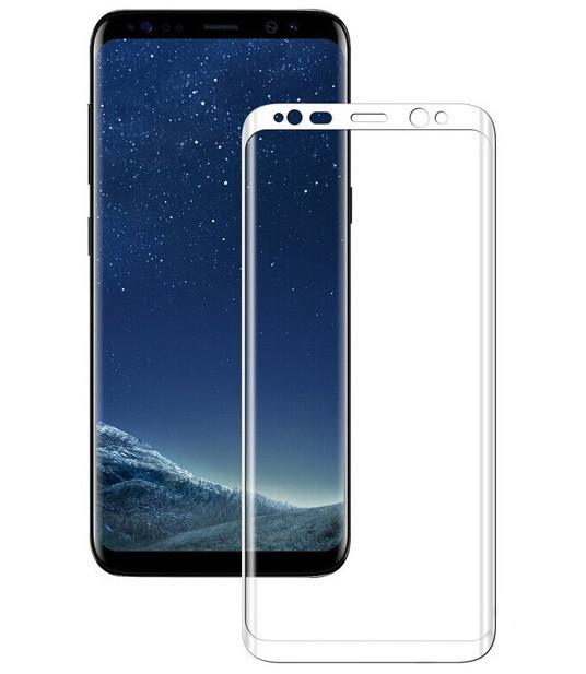 3D захисне скло для Samsung J600 White