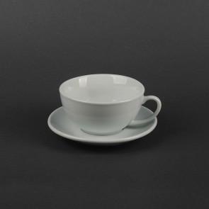 Набор для капучино Helios Чашка 200 мл + блюдце. HR1310