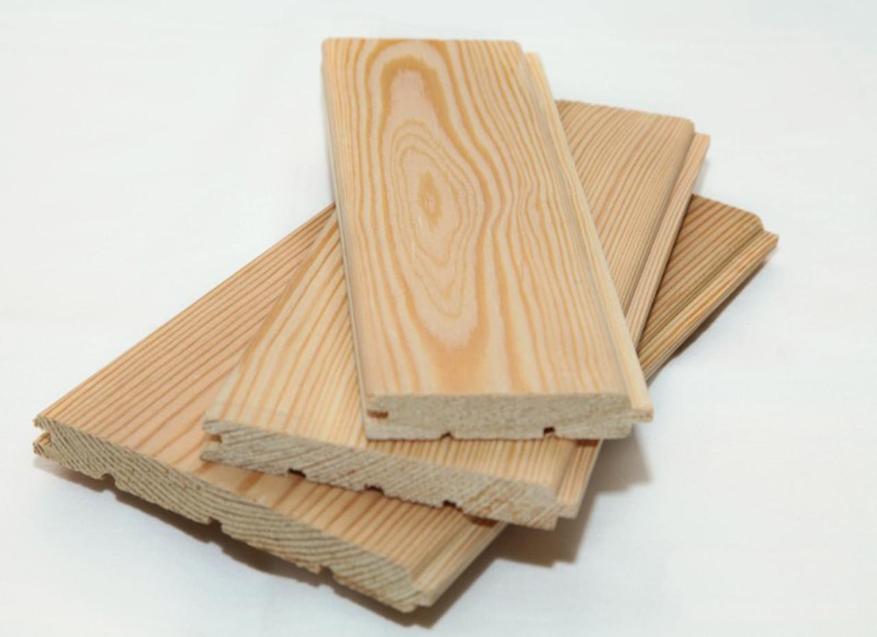 Вагонка деревянная Лиственница 14х165х3000 Сорт Экстра