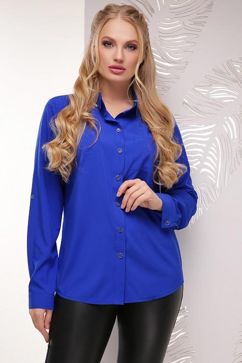 Блуза Донна электрик (52-56)