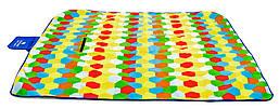 Туристическое одеяло плед Sapphire Мед 200 х 200 см