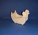 Великодній Курочка цукерниця заготівля для декупажу та декору, фото 2
