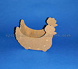 Великодній Курочка цукерниця заготівля для декупажу та декору, фото 3