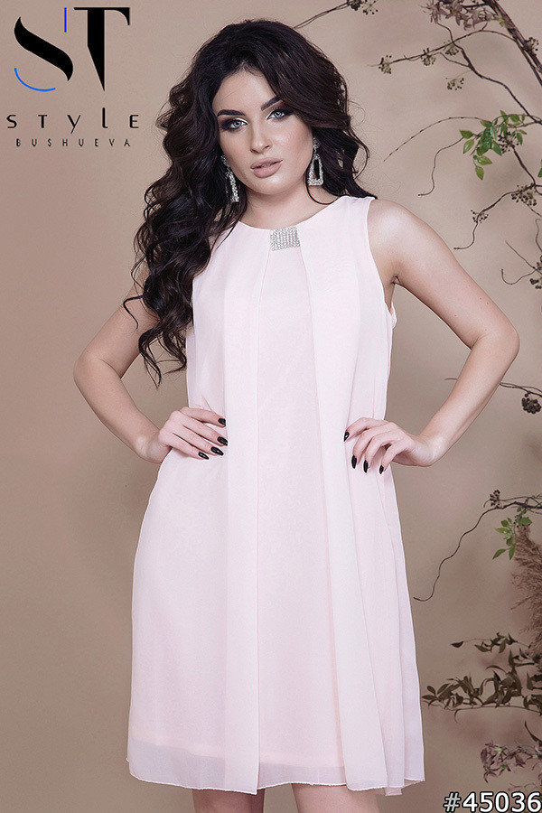 46e298341bc6349 Коктейльное платье А-силуэт