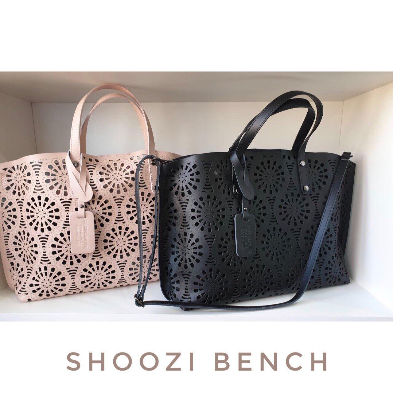 7035e9889667 Женская сумка-шопер из натуральной кожи Италия черная - Shoozi Bench в  Харькове