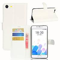 Чехол-книжка Litchie Wallet для Meizu E2 Белый