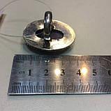 Кольцо чароит овальное кольцо крупное с чароитом 16 размер. Кольцо с камнем чароит Индия, фото 7