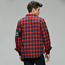 Оригинал Рубашка мужская AW19 MCS-8293, фото 3