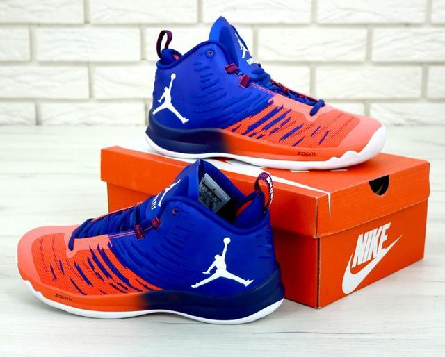 2d7be7e0 Баскетбольные Кроссовки Nike Air Jordan Super Fly — в Категории ...