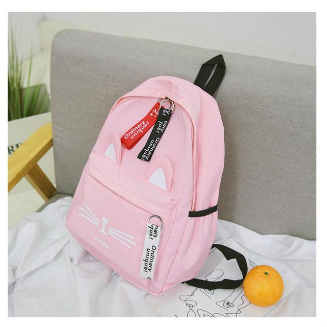 Рюкзак городской розовый