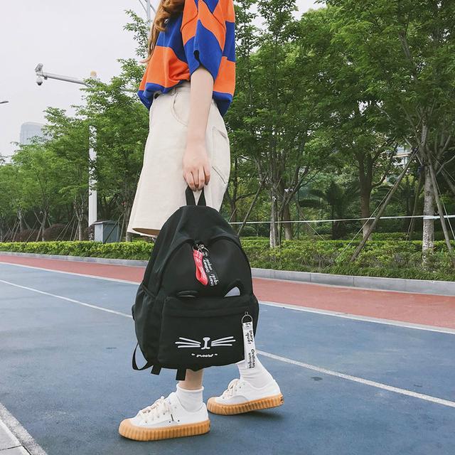 Школьный рюкзак Котик