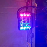 Світлодіодна Фара з функцією стробоскопа червоний і синій, фото 4