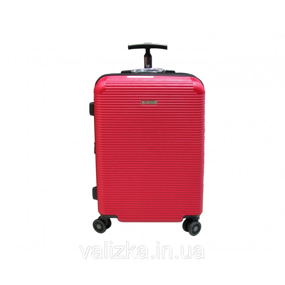 Чемодан из поликарбонат пластиковый средний Airtex 968 красный