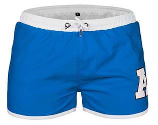 Шорты мужские для плавания голубого цвета