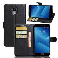 Чехол-книжка Litchie Wallet для Meizu M5 Note Черный