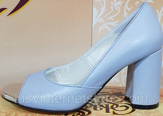 90538aa45 Туфли летние женские на каблуке от производителя модель КЛ9098 ...
