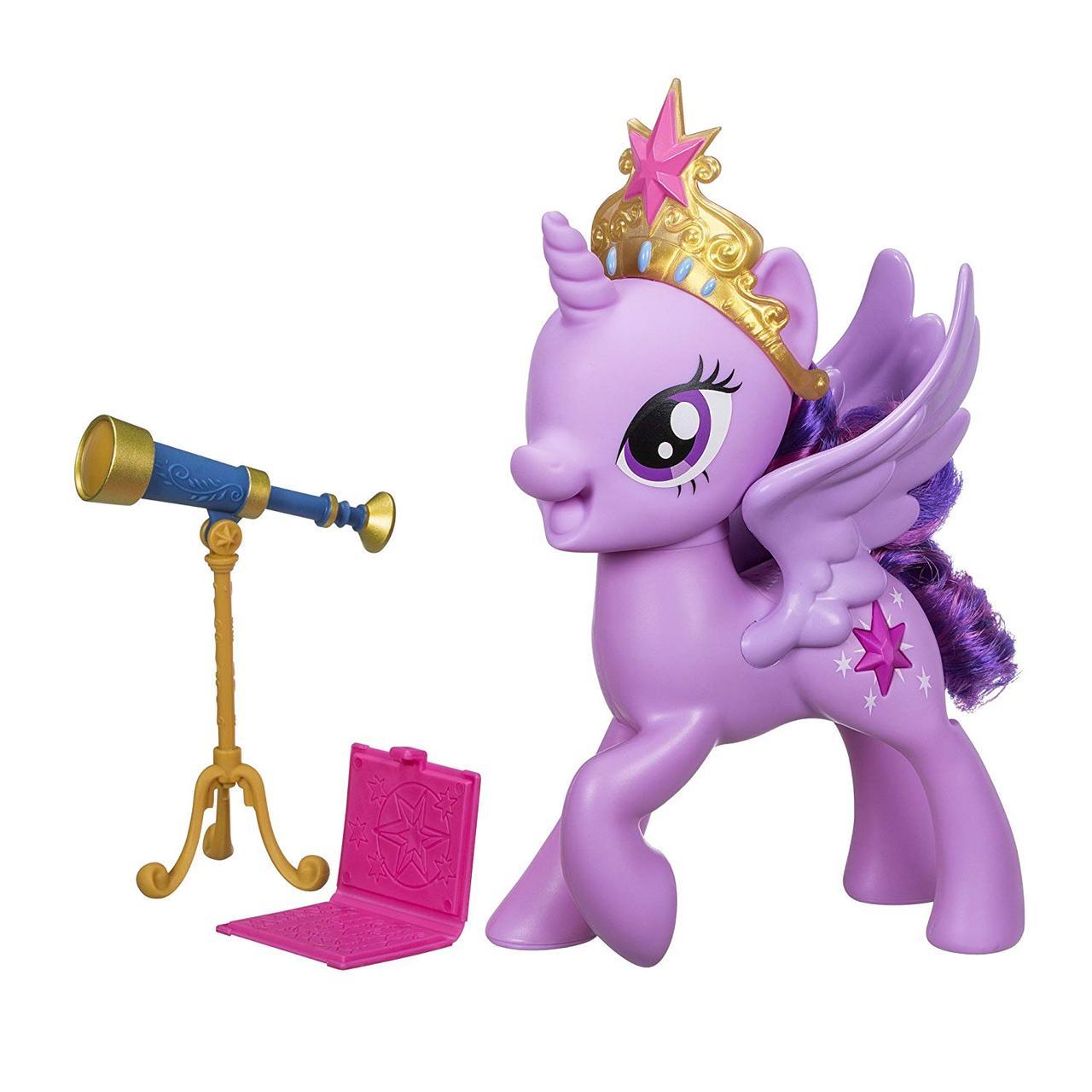 Пони интерактивная говорящая Твайлайт Спаркл Искорка Май Литл Пони My Little Pony Meet Twilight Sparkle Hasbro