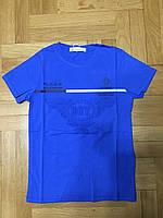 Яркая футболка на мальчика выпуклый 3D рисунок, рост 116, Grace 84250