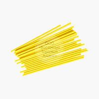 Палочки для кейк-попсов - Жёлтые - 15 см, 50 шт