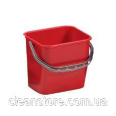 Відро пластик червоне 12л, фото 2