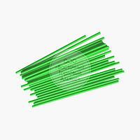 Палочки для кейк-попсов - Зелёные - 15 см, 50 шт