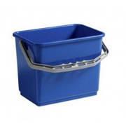 Ведро пластиковое синее 4л