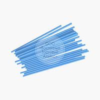 Палички для кейк-попсов - Блакитні - 15 см, 50 шт