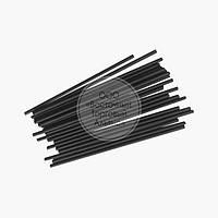 Палички для кейк-попсов - Чорні - 15 см, 50 шт