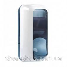 Дозатор мила жидкого белый пластик, фото 2