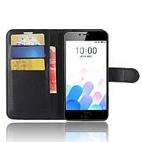 Чехол-книжка Litchie Wallet для Meizu M5S Черный