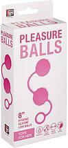 Шарики вагинальные NEON PLEASURE BALLS, 3.6 см, фото 2