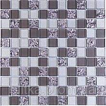 Мозаїка GM 8001 C3 GreyR S1, Grey m, Grey Silver